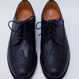 Mark McNairy for Engineered Garments - Long Wing Leather Black