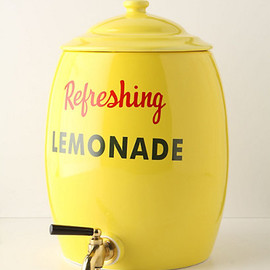 Anthropologie  - Refreshing Lemonade Urn