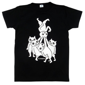 ART SHOP KAGOYA - NECO x Sakasa T-Shirt