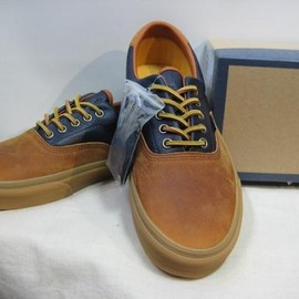 VANS - Vans California  ERA45CA  Leather  Camel/Navy