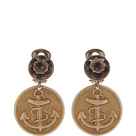 DOLCE&GABBANA - Embossed Anchor Earrings