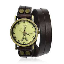 alanatt - Tower Print Double Wrap Watch