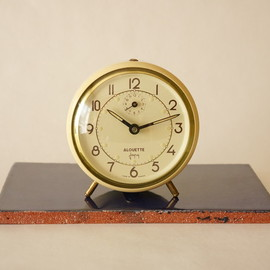 japy - japy/alarm clock/ivory/france 1950s/working