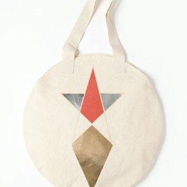 COSMIC WONDER Light Source - PENTAGRAM PRINT CIRCLE TOTE BAG (ZOZOTOWN / CWLS LIMITED)