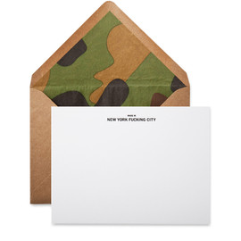 Terrapin Stationers - Made in nyfc note card
