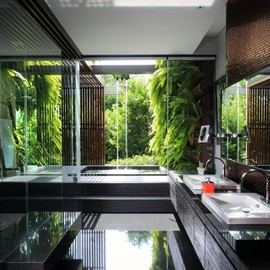 Indonesian style bathroom