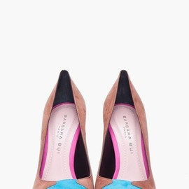 Barbara Bui - Suede Colorblock Pumps