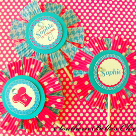 Cooking/Baking Centerpiece Pinwheel...Set of 1 Pinwheel used for Table Decorations & Cake Toppers