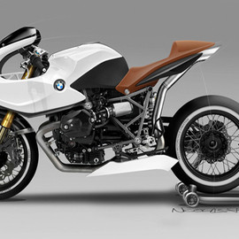 BMW - R12 HOMMAGE BY NICOLAS PETIT