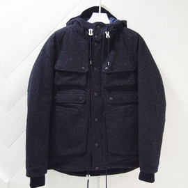 White Mountaineering - Down Jacket  Tweed