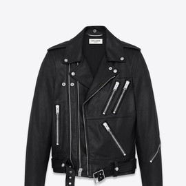 Saint Laurent - SAINT LAURENT MULTI-ZIP MOTORCYCLE JACKET IN BLACK LEATHER