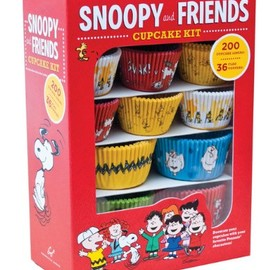 Peanuts - Snoopy and Friends Cupcake Kit