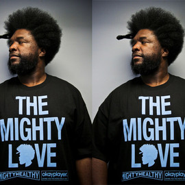 Mighty Healthy, Okayplayer - Mighty Healthy x Okayplayer - The Mighty Love Tee in Black