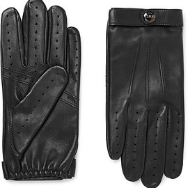 Dents - Fleming Perforated Leather Driving Gloves