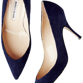 MANOLO BLAHNIK - Pointed Toe Pump
