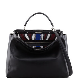Fendi - Peekaboo Sequin-Lined Handbag