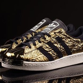 adidas originals - ADIDAS ORIGINALS SUPERSTAR METAL TOE GOLD MET/CORE BLACK/OFF WHITE