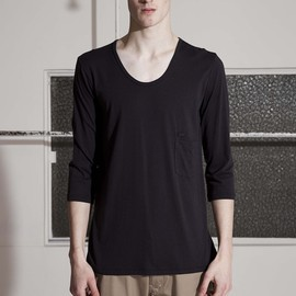 FACTOTUM - BASIC HALF SLEEVE CREW NECK