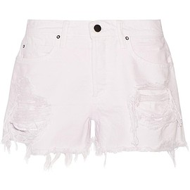 Alexander Wang - Romp distressed denim shorts