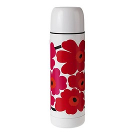 marimekko - Unikko Thermos Red Wht S12 Insulated Bottle