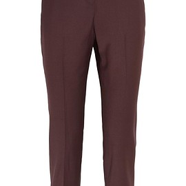 Theory - Treeca 2 cropped wool-blend slim-leg pants