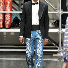 Jean Paul Gaultier - 12SS  Hawaiian Trousers