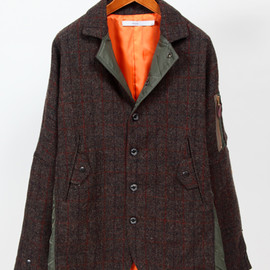 BEAUTY&YOUTH UNITED ARROWS, .efiLevol - efiLevol Harris Tweed B&Y SPECIAL