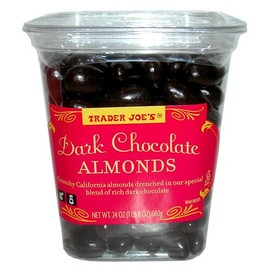 Trader Joe's - Dark Chocolate Almonds