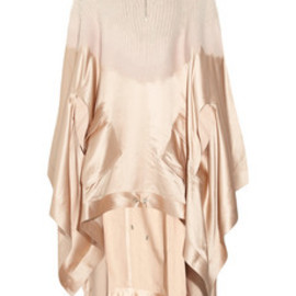 Alexander Wang - Satin Angora Needle Punch Poncho