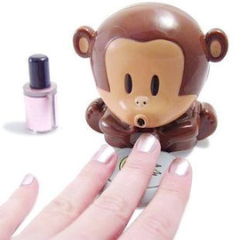 alanatt - Cute Monkey Nail Drier