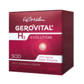 Gerovital GH3 Evolution - Anti Wrinkle Cream Highly Moiturising-with SPF15