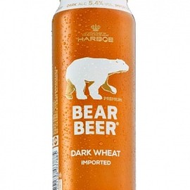 HARBOE - Bear Beer Dark Wheat 5.4%