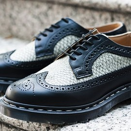 """Dr. Martens - """"Made in England"""" MIE 3989 Brogue Shoe"""