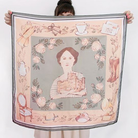 Kelsey Garrity-Riley - Heirloom Silk Scarf