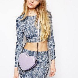 asos - Heart Cross Body Bag