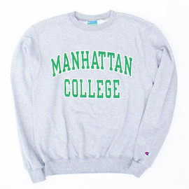 Champion - Manhattan College/Crew Neck Sweat