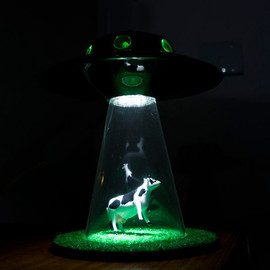The Alian abduction Lamp