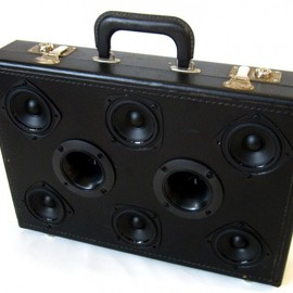 Mr Simo - The Boom Case: Vintage Suitcase Boom Boxes