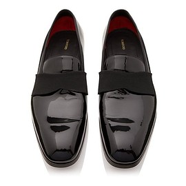 TOM FORD - EDGAR PATENT LEATHER EVENING LOAFER