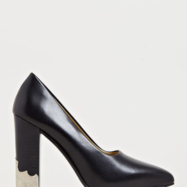 Toga - Toga Women's Metal Panel Court Heels