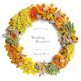 Welcome Board for Wedding / Φ50cm