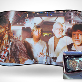 STAR WARS Auto Sun Shade