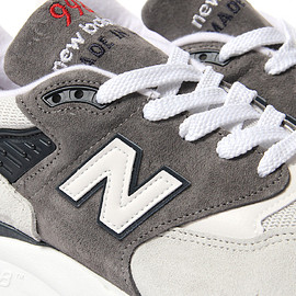 New Balance - M997 - Creme/Grey/Orange