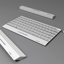 Yoonsang Kim - Folding Fan Keyboard