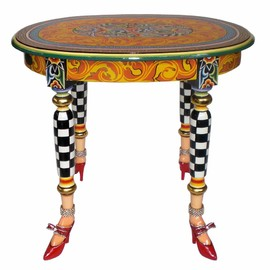 Toms Drag - Toms Drag Tables - oval Side table Versailles Collection