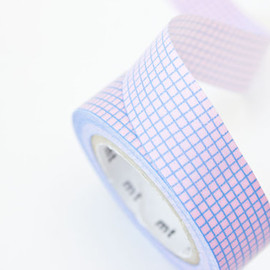 Pastel mt Tape - Grid Masking Tape 15mm x 10 metres