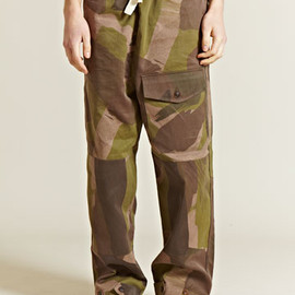 Nigel Cabourn - Army Drill Work Trousers