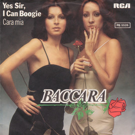 """Baccara - Yes Sir, I Can Boogie(7"""", single)"""