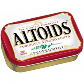 Altoids - Curiously Strong Mints - Peppermint