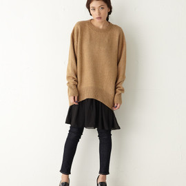 moussy - Multi Layered Chiffon Inner